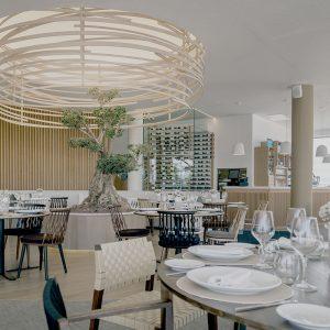 Restaurant van Marina Beach Club Valencia