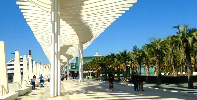 Muello Uno bezienswaardigheden Malaga Spanje