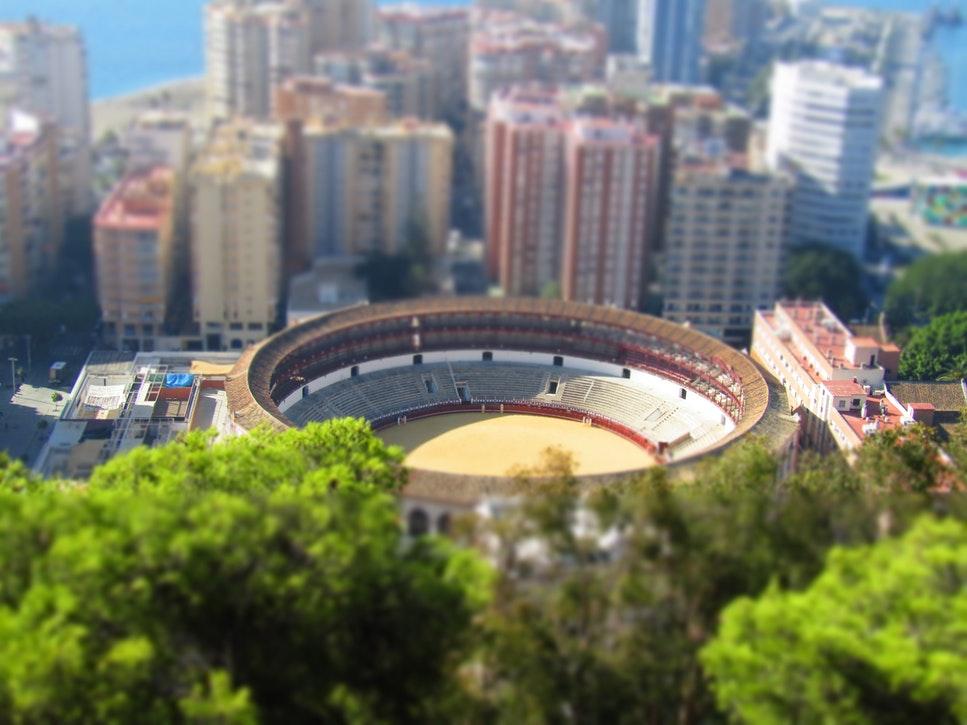 Oude centrum Malaga bezienswaardigheden Malaga Spanje