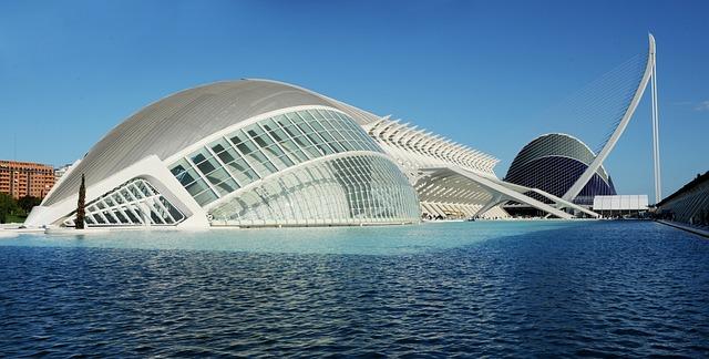 Ciutat de les Arts i les Ciències Valencia sightseeing