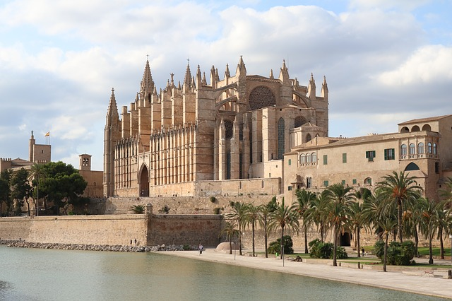 kathedraal la seu in palma de mallorca