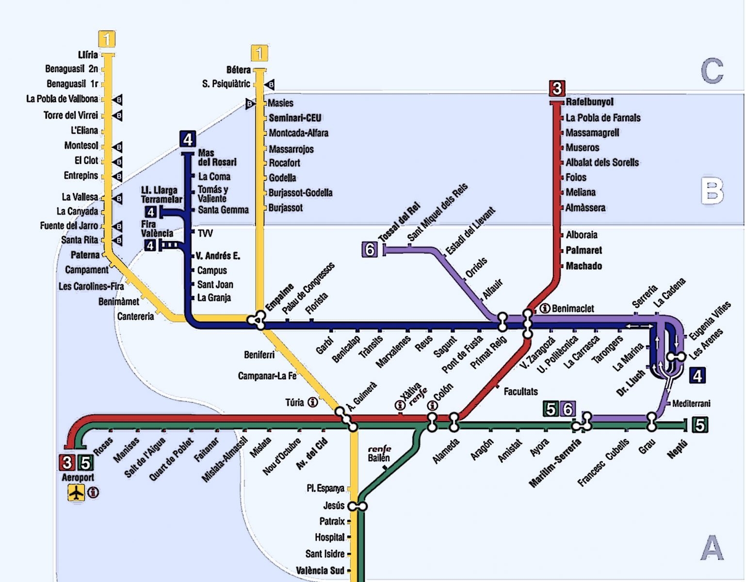 Subway Valencia
