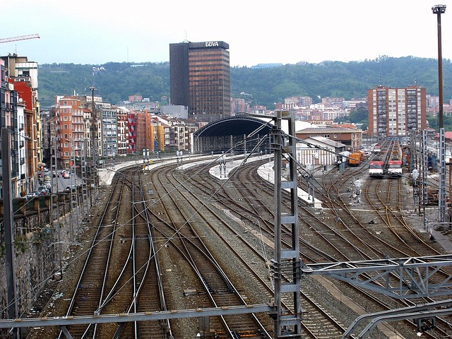 Bilbao travel information train