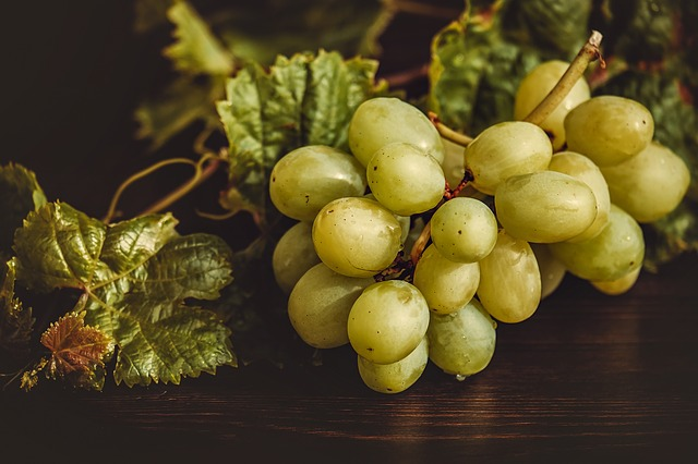 Spanish habits grapes