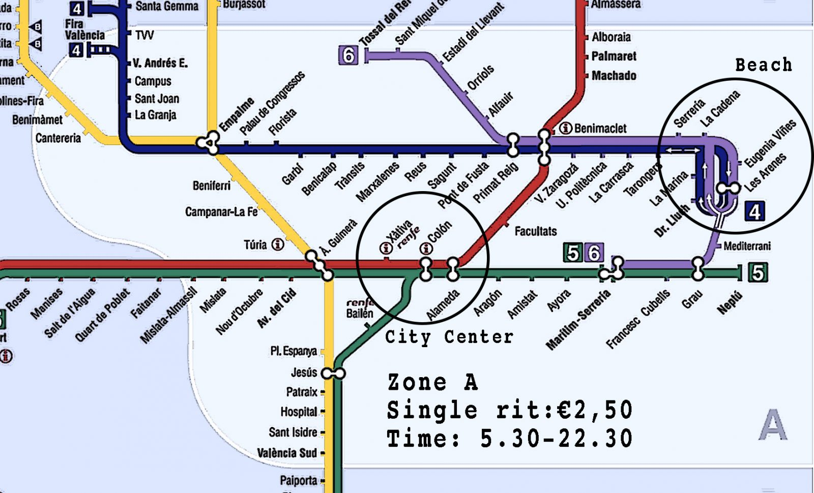 Seville Subway Map.Subway Valencia Everything You Need To Know Suspanish Blog