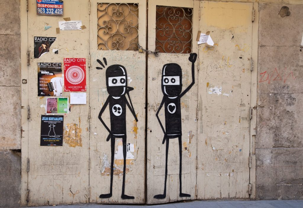 The story of street artist in Valencia