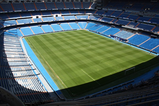 Santiago Bernabéu stadium panoramic view