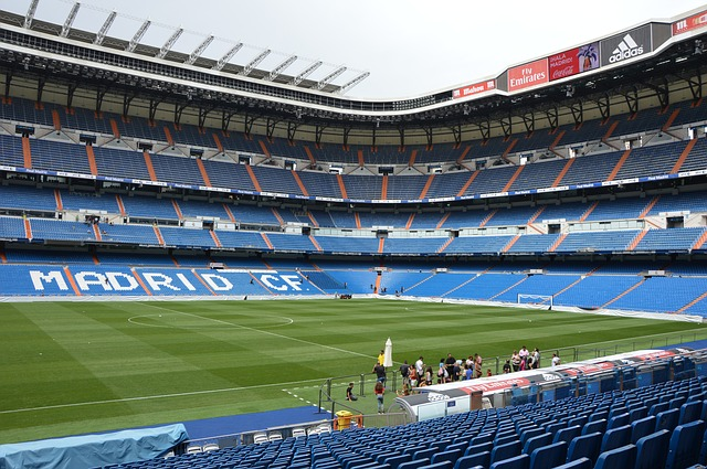 Santiago Bernabéu stadium pitch