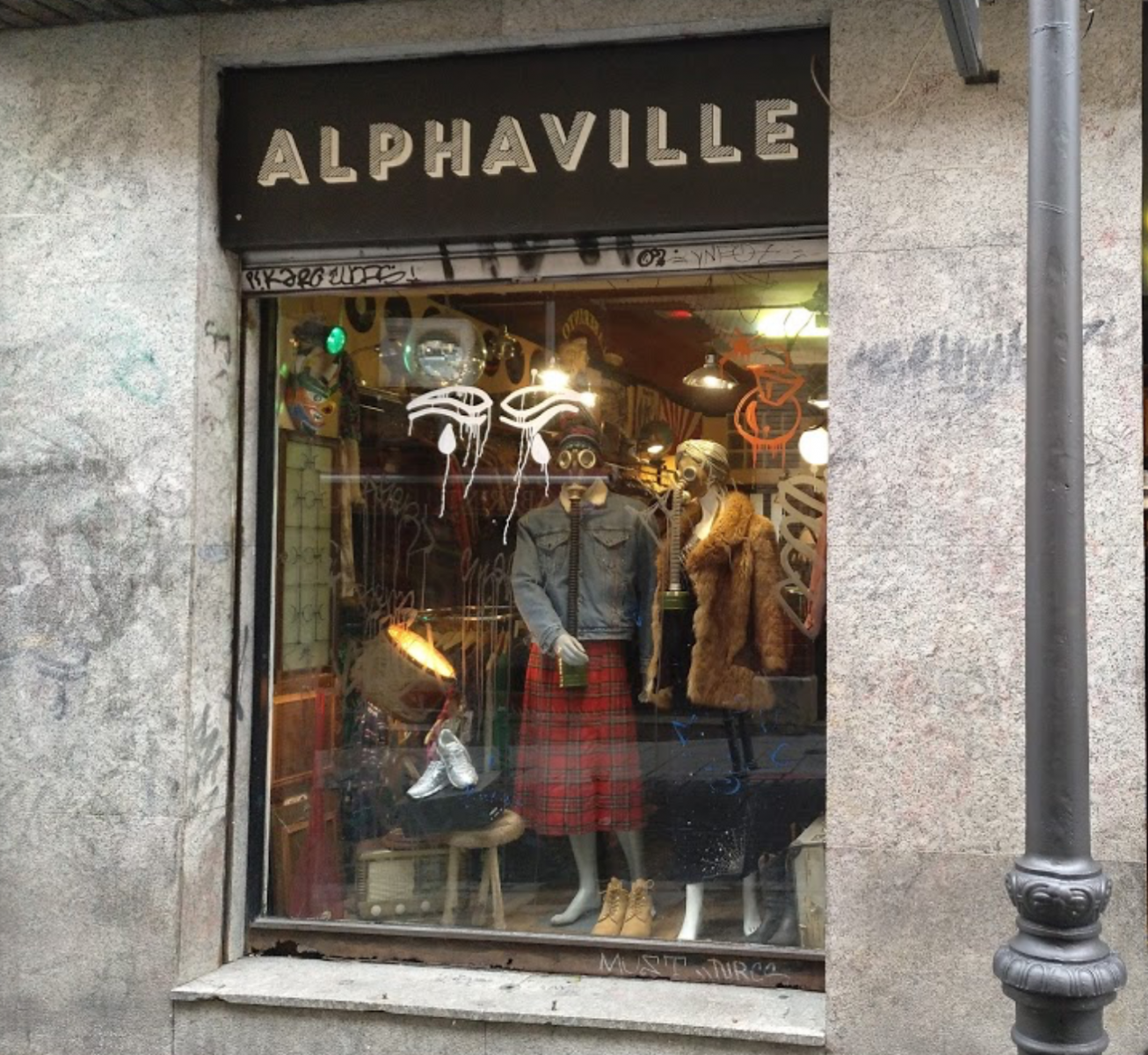 Vintage stores in Madrid