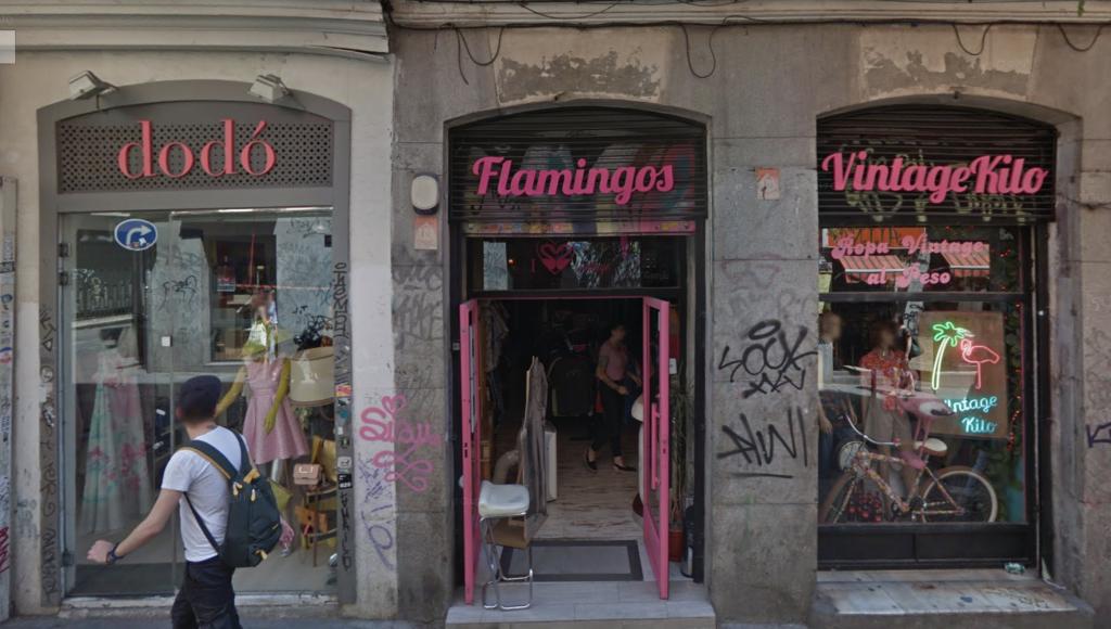 Vintage stores Madrid