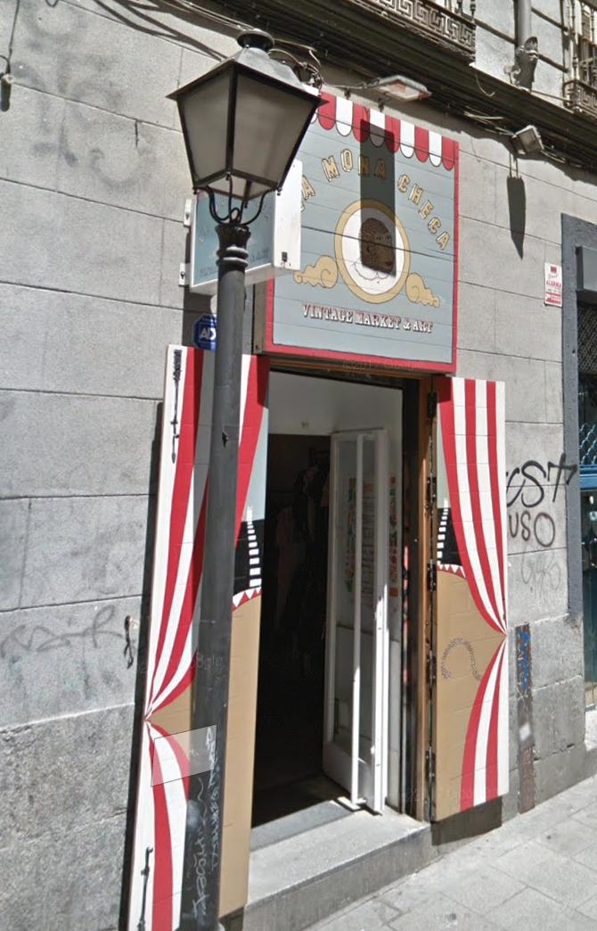 Vintage winkels in Madrid
