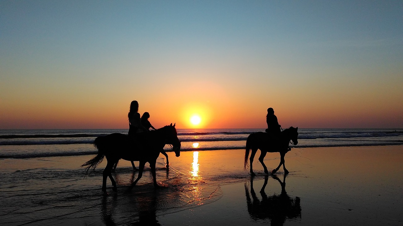bilbao beaches horse riding