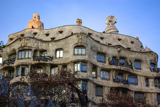works of gaudi casa mila