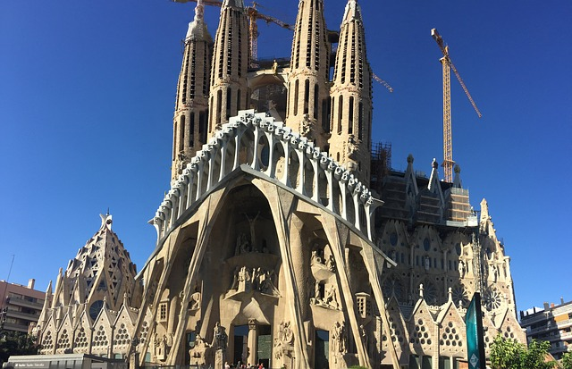 works of gaudi sagrada familia