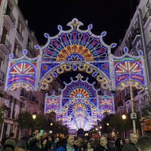 Las Fallas Program 2019 Street lights
